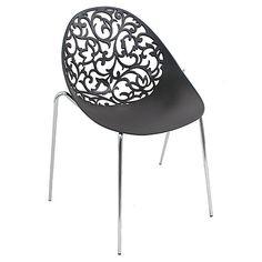 Dahlia Chair Black