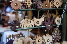 Wooden Xmas ornaments Budapest Christmas Market, Xmas Ornaments, Christmas Ornament