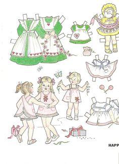 Miss Missy Paper Dolls: Happy Birthday paper dolls