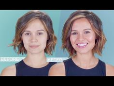 Genius Beauty Hack for a Perfect Face Tan - YouTube