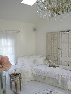 #shabby #white #bedroom