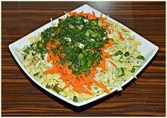 Z maminego zeszytu: Surówka z kapusty włoskiej Seaweed Salad, Palak Paneer, Grains, Rice, Ethnic Recipes, Food, Essen, Meals, Seeds