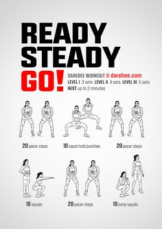Ready, Steady, Go! Workout