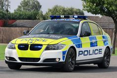The British Police will be powered by BMW