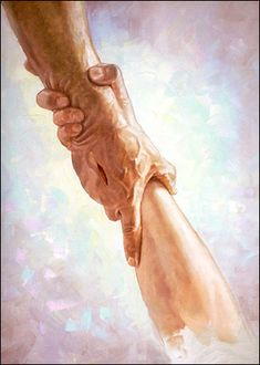 Helping Hands by Chris Hopkins - flashback