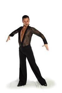 Camicia A Body Uomo Merletto Elasticizzato E Bande IN Raso Taglie Standard SU | eBay