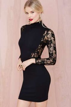 Nasty Gal Danica Lace Dress | Nasty Gal
