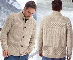 Мужской кардиган (м) 286 Creations Bergere de France herrenpullover Mens Knit Sweater, Knitted Coat, Jacket Style, Knitwear, Kids Outfits, Creations, Mens Fashion, Knitting, Mens Tops
