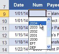 Easily select the current date in the check register Checkbook Register, Check Register, Budgeting Worksheets, Getting Organized, Printable, Templates, Learning, Free