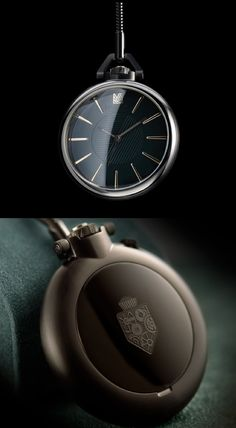 1805 BLACK EMERALD POCKET WATCH