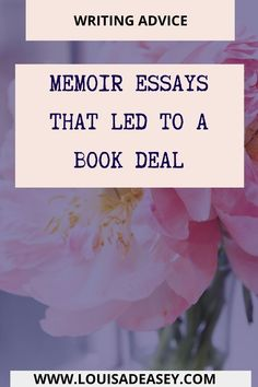 from #cherylstrayed to #stephanieland so many #memoir essays caputured #publishers attention and led to a book deal! #autobiographical #writingtips #publishing #books #bibliophile #authorquote #journalprompts #creativewriting #writinginspiration #qotd #editingtips #querytip #firstdraft #storytelling #bookquote #storystructure #herosjourney #nonfiction #journal #firstdraft #editing Diary Writing, Memoir Writing, Journal Writing Prompts, Writing Quotes, Writing Advice, Writing Resources, Blog Writing, Creative Writing, Author Quotes