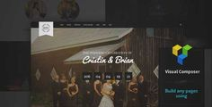 Download and review of Wedding Emotions - WordPress Theme, one of the best Themeforest Wedding themes