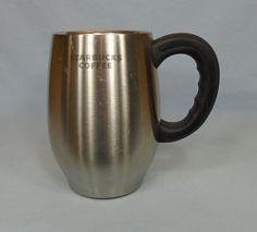 Starbucks Coffee Cup Mug Double Wall Insulated Stainless Steel Barrel 16oz c2006 | eBay
