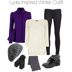 Teen Wolf - Lydia Inspired Winter Outfit