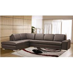 FREE SHIPPING! Shop Wayfair for Hokku Designs Block Sectional - Great Deals on all Furniture products with the right hand sectional top grain leather2,700$ best selection to choose from!