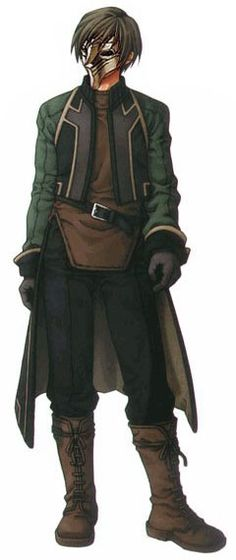 Suikoden III - Luc (with mask)