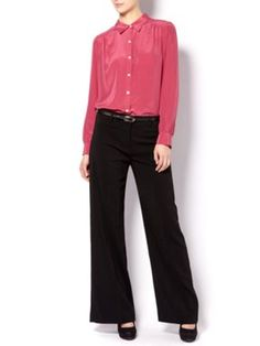Linea Wide leg trouser Black - House of Fraser