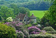Scotney Castle garden Tunbridge Wells Kent, England