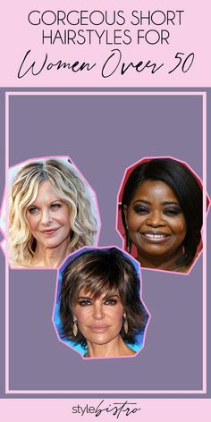 If there's anything we learned from women in Hollywood who are in their or older, it's that there's no limit to the looks they can pull off. And when it comes to short hairstyles, we are all for mixing it up and experimenting with fun new looks that w Short Hairstyles Over 50, Casual Hairstyles, Elegant Hairstyles, Short Hairstyles For Women, Cool Hairstyles, Blonde Hairstyles, Hairstyle Ideas, Wedding Hairstyles, Messy Short Hair