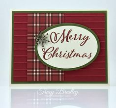 I know it seems so early to be thinking about Christmas cards when Halloween isn't even here yet but the holidays will be here before you know it! Merry Christmas To All, Stampin Up Christmas, Winter Christmas, Handmade Christmas, Christmas Crafts, Diy Paper, Paper Crafts, 3d Cards, Heartfelt Creations