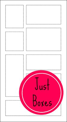 Planner Fun - free inserts, links, hacks & fun: Just Boxes - Personal Size [printable]