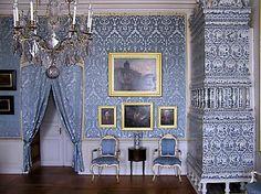 Rundale Palace, Duke Zubov's apartment