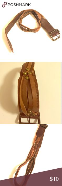 Leather Belt Weave Design Brown Leather Belt will be attractive however you decide to wear it. Accessories Belts