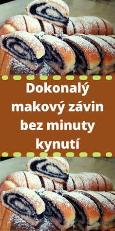 Czech Recipes, Ethnic Recipes, Sweet Life, Hot Dog Buns, Sushi, Bakery, Food And Drink, Sweets, Bread