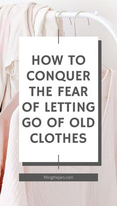 Having a simple wardrobe you love really is possible! Start by working through these fears and excuses you make to keep all the clothes you never wear. Once you change your decluttering mindset, it will get easier to get rid of old clothes. Enjoy your closet full of only your favorite clothes that make you feel amazing. Make You Feel, How Are You Feeling, How To Get, Organization Hacks, Organizing Tips, Set A Reminder, Simple Wardrobe, Clutter Free Home, Old Clothes
