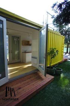 Container 20 feet muy buena forma de optimizar el ambiente.