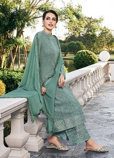Buy Green Salwar Kameez In USA, UK, Canada, Australia, Newzeland online