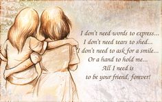 True friendship Quotes and sayings. True friendship is a deepest and most significant relationship that someone can ever experience in his life. Friendship Day Quotes Images, Friendship Words, Friend Friendship, Friendship Messages, Friendship Thoughts, Broken Friendship, Best Friend Poems, Birthday Quotes For Best Friend, Friendship Day Wallpaper