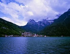 This photo was taken on June 23, 2011 in Alleghe, Veneto, Italy by Tyler Craft