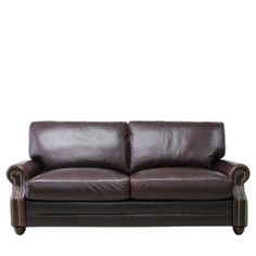 £629 Elliot 3 seater leather sofa - Find this item at bhsfurniture.co.uk 3 Seater Leather Sofa, Garage Room