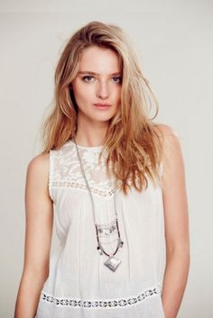 Free People Lotus Layered Necklace on shopstyle.com