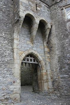 Cahir Castle, Tipperary County, Ireland.