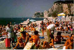 Italy waterview in Sistiena (near Trieste) Italian Villa, Adriatic Sea, Trieste, Dolores Park, Italy, Vacation, Places, Pink, Travel
