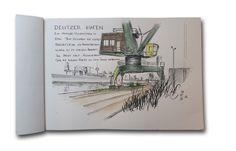 Sketchen am Deutzer Hafen in Köln