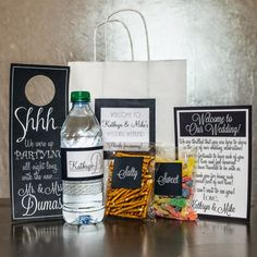 Wedding Welcome Bag Gift Out Of Town Destination