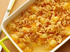 Pineapple Casserole from FoodNetwork.com