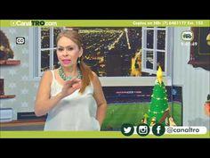 ARBOL NAVIDEÑO motiv nacimiento hecho con fieltro, cono amine  -  -  Proyecto árbol de navidad - Hecho Con Estilo