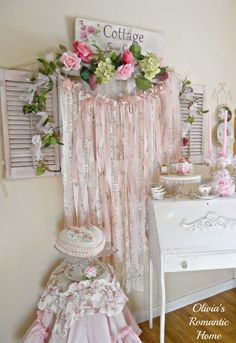 Shabby Chic Window to Nowhere