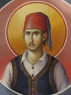 Orthodox Icons, Religious Art, Style Icons, Saints, Baseball Cards, Artist, Artwork, Painting, Work Of Art