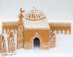 Gingerbread Masjid for Ramadan or Eid | With A Spin