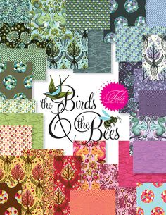 THE BIRDS And The BEES By Tula Pink
