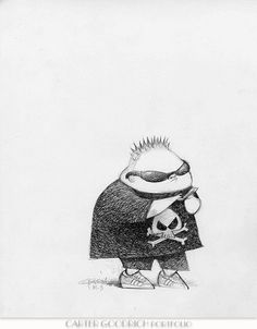 Despicable Me: Character Design: Carter Goodrich Character Design Teen, Kid Character, Character Design Animation, Character Design References, Character Development, Character Illustration, Illustration Art, Draw On Photos, Illustrations