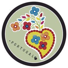 Symbols of Portugal - Valentines Scarf Sold! #Portugal #LençodoaNamorados #valentines