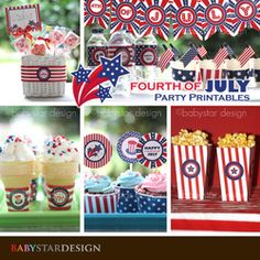4th of July Party Printables - 4th of July