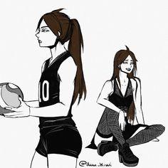 "*needs coffee and atsumu""s thighs Haikyuu Genderbend, Haikyuu Fanart, Haikyuu Anime, Haikyuu Ships, Girls Characters, Anime Characters, Anime Warrior Girl, Oc Manga, Naruto"