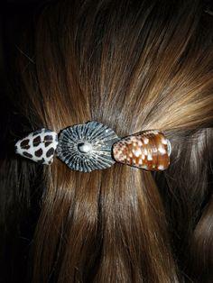 Hawaiian Shell Hairclip by FlatteryDesigns on Etsy, $5.00